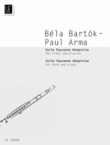 BARTOK B. SUITE PAYSANNE HONGROISE FLUTE