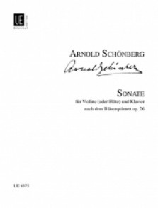 SCHOENBERG A. SONATE OP 26 FLUTE