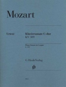 MOZART W.A. SONATE KV 309 DO MAJEUR PIANO