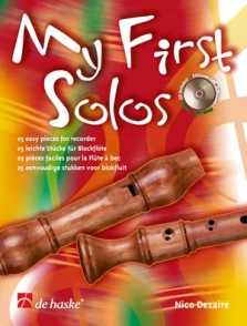 DEZAIRE N. MY FIRST SOLOS FLUTE A BEC