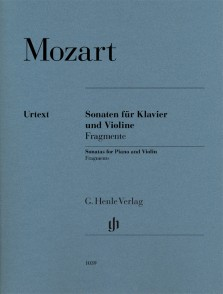 MOZART W.A. SONATES FRAGMENTS VIOLON