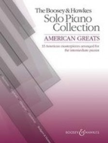 AMERICAN GREATS SOLO PIANO COLLECTION