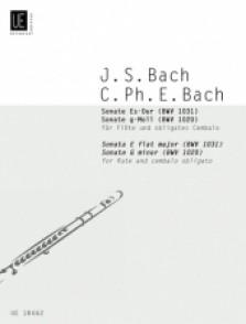 BACH C.P.E./BACH J.S. SONATA FLUTE