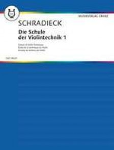 SCHRADIECK H. ECOLE DE LA TECHNIQUE VOL 1 VIOLON