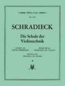 SCHRADIECK H. ECOLE DE LA TECHNIQUE VOL 2 VIOLON