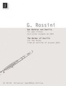 ROSSINI G. LE BARBIER DE SEVILLE 2 FLUTES
