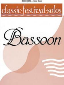 CLASSIC FESTIVAL SOLOS BASSON