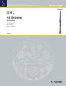 UHL A. 48 ETUDES BOOK 2 CLARINETTE
