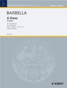 BARBELLA E. DUOS VOL 1 MANDOLINES