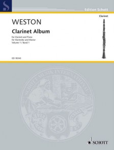 WESTON P. CLARINET ALBUM VOL 1