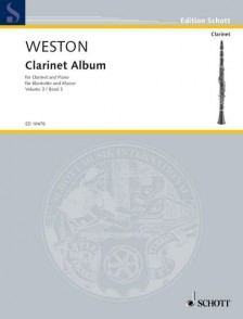 WESTON P. CLARINET ALBUM VOL 3