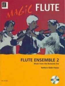 GISLER-HAASE B. MAGIC FLUTE VOL 2 FLUTES ENSEMBLE