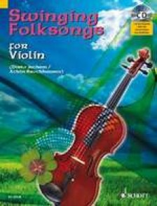 SWINGING FOLKSONGS FOR VIOLON