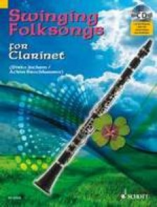 SWINGING FOLKSONGS FOR CLARINETTE