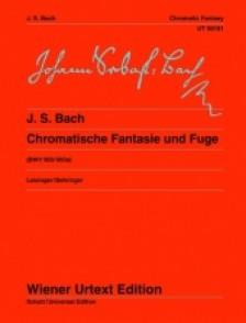 BACH J.S. FANTAISIE CHROMATIQUE ET FUGUE PIANO