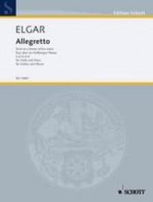 ELGAR E. ALLEGRETTO VIOLON