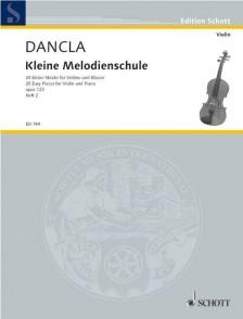 DANCLA C. KLEINE MELODIENSCHULE OP 123 VOL 2 VIOLON