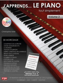 ASTIE C. J'APPRENDS ... LE PIANO VOL 2