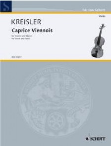 KREISLER F. CAPRICE VIENNOIS OP 2 VIOLON