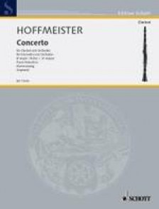 HOFFMEISTER F.A. CONCERTO SIB MAJEUR CLARINETTE