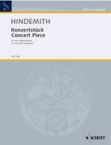 HINDEMITH P. KONZERSTUCK SAXOPHONES