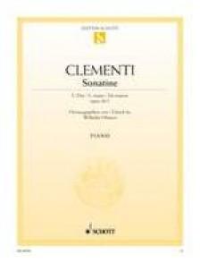 CLEMENTI M. SONATINE OP 36/1 PIANO