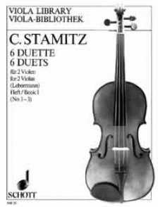 STAMITZ C. 6 DUETS VOL 1 ALTOS