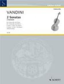 VANDINI A. SONATAS VIOLONCELLE