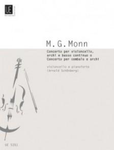 MONN G.M. CONCERTO VIOLONCELLE