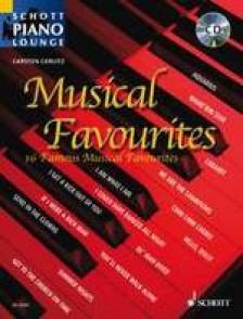GERLITZ C. MUSICAL FAVOURITES PIANO