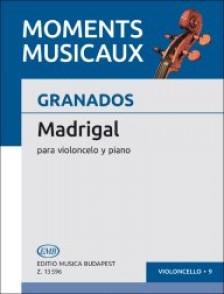 GRANADOS E. MADRIGAL VIOLONCELLE
