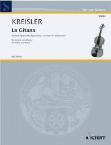 KREISLER F. LA GITANA VIOLON