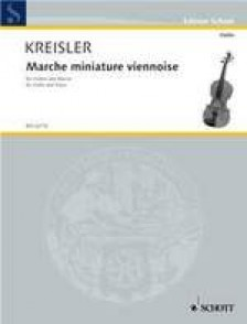 KREISLER F. MARCHE MINIATURE VIENNOISE VIOLON