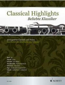CLASSICAL HIGHLIGHTS CLARINETTE