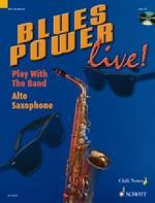 BLUES POWER LIVE PLAY WITH THE BAND SAXO ALTO