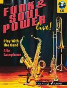 FUNK & SOUL POWER LIVE PLAY WITH THE BAND SAXO ALTO
