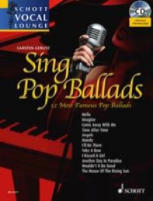 SING POP  BALLADS CHANT PIANO