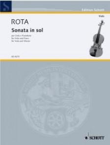 ROTA N. SONATE IN SOL ALTO