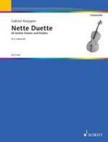 KOEPPEN G. NETTE DUETTE VIOLONCELLES