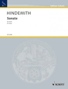 HINDEMITH P. SONATE IN C HARPE