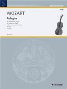 MOZART W.A. ADAGIO EN E MAJEUR KV 261 VIOLON
