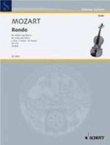MOZART W.A. RONDO KV 373 VIOLON