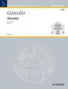 GUILLOU J. TOCCATA ORGUE