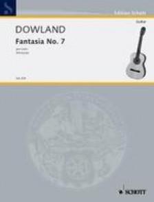 DOWLAND J. FANTASIA N°7 GUITARE