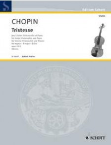 CHOPIN F. TRISTESSE VIOLON