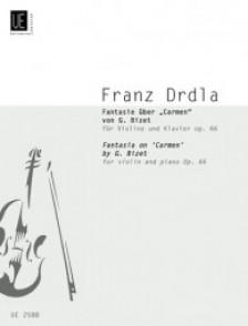 DRDLA F.  FANTAISIE SUR CARMEN DE BIZET VIOLON
