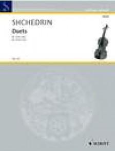 SHCHEDRIN R. DUETS VIOLON SOLO