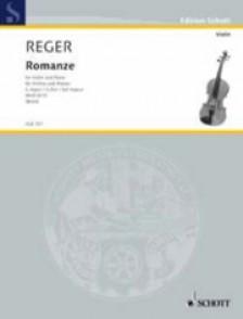 REGER M. ROMANZE G MAJOR VIOLON