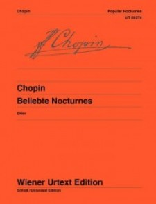 CHOPIN F. NOCTURNES POPULAIRES PIANO