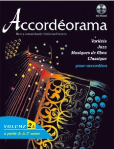 ACCORDEORAMA VOL 2A AVEC CD
